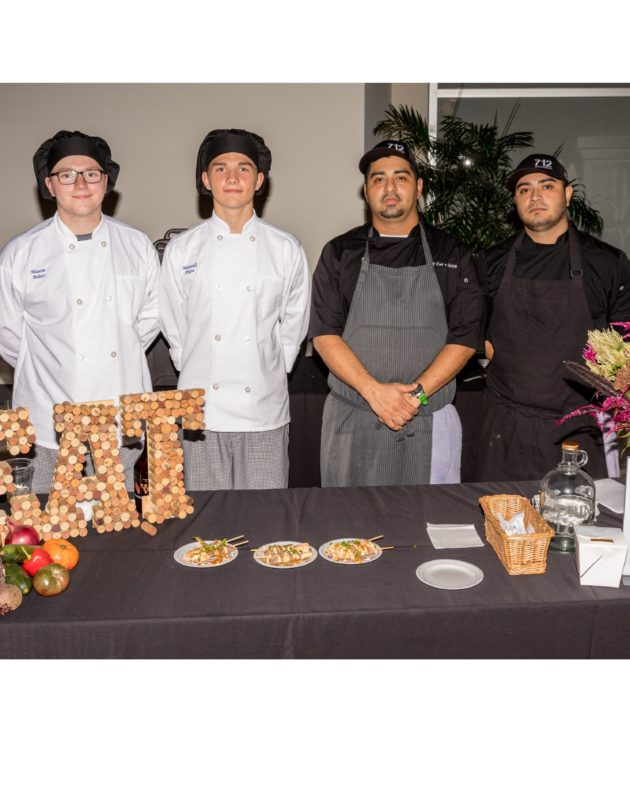 ProStart Students Work With Professional Chefs