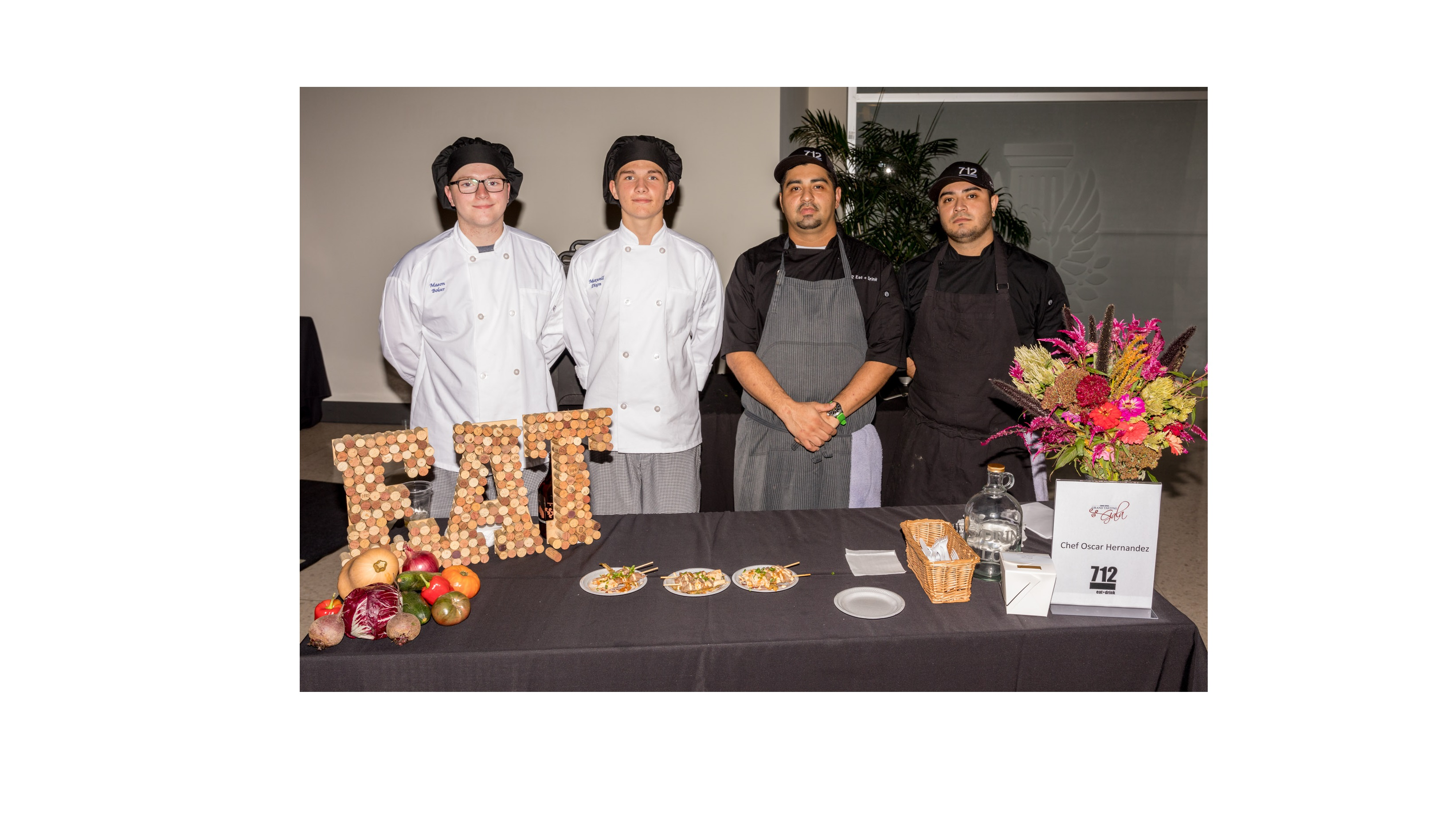 ProStart Students at Gala